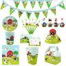 Farm Animals Kids Theme Birthday Party Supplies Tableware & Serveware Range