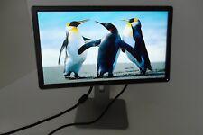 "Dell 20"" Widescreen Black LCD Monitor P2014H DVI VGA 4-Port USB Hub 1000:1 J6HFT"