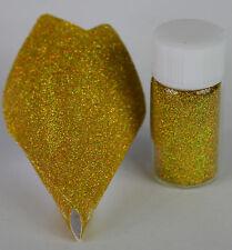 """Esclusivo Bizzy Unghie Cosmetici Grade Micro Glitter """"OLOGRAFICA ORO"""" 0.1 mm 5 ML"""