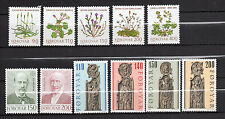 Faroe Islands : 1980 Complete year New ( MNH )