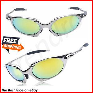 Men's Romeo Cycling Glasses Polarized Aolly X Metal Riding Sunglasses ciclismo P