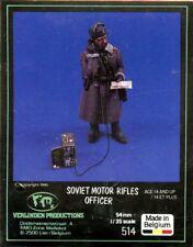 Verlinden 1:35 54mm Soviet Motor Rifles Officer Resin Figure Kit #514