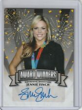 "2014 LEAF POP CENTURY JENNIE FINCH ""AWARD WINNERS"" AUTOGRAPH GOLD 4/25"