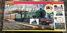 Hornby 00 GAUGE ~ R1032 - MAINLINE STEAM TRAIN SET - USED BOXED - BARGAIN