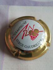 Capsule de Champagne JÉROBOAM Personnalisée An 2000 SERGE GAUDRILLER Contou Or.