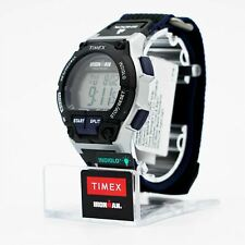 NOB Timex Ironman Men`s Sport Watch in Grey / Black Resin with Nylon Band - 42mm