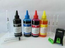 400 kit inchiostro ricarica cartucce hp 301 , 302, 303, 304, 305  nere e colore