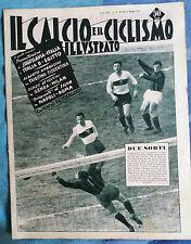 Il calcio e il ciclismo illustrato 1957  N°19 Triestina-Genoa-Celso Bosio   23/6
