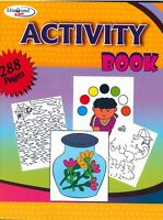 A4 288 PAGE JUMBO CHILDREN'S Multi-Activity ART & CRAFT BOOK