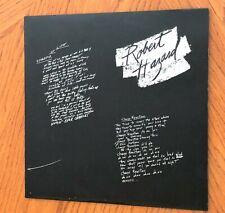 Robert Hazard Vinyl LP MXL1-8500 Escalator Of Life