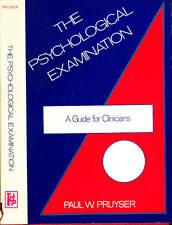 PSYCHOLOGY PAUL PRUYSER PSYCHOLOGICAL EXAMINATION FOR CLINICIANS H/C D/J