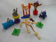 2012 Mcdonalds MADAGASCAR 3 Movie complete set 6 figures DREAMWORKS*
