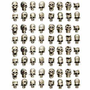 Wargame Exclusive Human Skulls (64) Wargames Miniature 28mm Schädel Skull