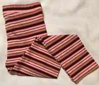 Gymboree Girls Size XXS 3 Leggings Striped Gold Red Navy Blush Heather Grey New