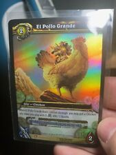 World of Warcraft Loot Card El Pollo Grande, Used