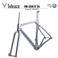Carbon Fiber Gravel Frame FM-CX072 Cyclocross 27.5er/700C Bicycle Frames OEM