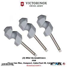 Victorinox #30411_3 Mini Screwdrivers for Swiss Army Knives w/ Corkscrews