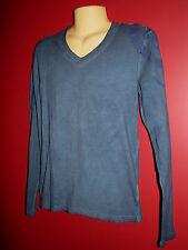 "Parasuco Men's Blue ""Lucky Life"" Long Sleeved T-shirt - Size Small - NWT"