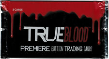 True Blood Premiere Edition Factory Sealed Trading Card Pack with 5 Cards