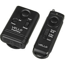 Vello FreeWave Wireless Remote Shutter Release for Nikon w/Mini-USB Connection