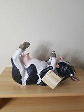 Drinking Cow Wine Bottle Holder Statue, World of Wonders