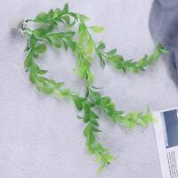 Green aquarium plants water grass ornament plant fish tank plastic decoration XJ