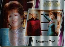 Star Trek Women Of 50th Metal Parallel Base Card #51 Lwaxana Troi and Jean-Luc P