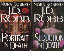 Set Lot of  4 Nora Roberts J.D. Robb In Death Series # 13-16 Seduction Reunion
