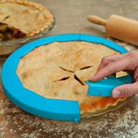 Adjustable Silicone Pie Crust Shield Bakeware Round Pie Baking Tool Fit 8-11.5""