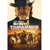Bone Tomahawk (DVD, 2015) Kurt Russell Brand New sealed ships NEXT DAY w TRACKIN