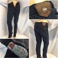 Parasuco Jeans 32x31 Dark Cotton Lycra Skinny Hong Kong EUC YGI A9-301