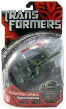 Transformers Movie 07 Deluxe Class Decepticon Brawl Army Camo Tank MOSC G1 Seige