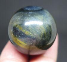 27mm 1OZ NATURAL Blue Tiger's Eye CRYSTAL Sphere Ball