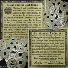 U GET ONE Lucky Chinese Cash Coin 1000 Year Old Song Dynasty Middle Ages Antique