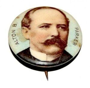 ALTON PARKER campaign pin pinback button political badge presidential election