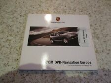 PORSCHE Pcm 2.1 2007 Satellite Sat Nav Navigation DVD ROM Europe FREE POST