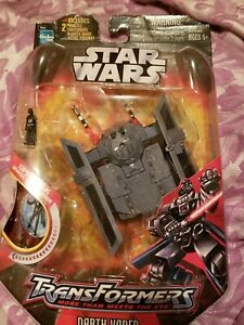 Star Wars Transformers Darth Vader Tie Advanced Hasbro Sealed FREE SHIPPING!