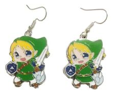 The Legend of Zelda Link Character  Metal French Wire Earrings