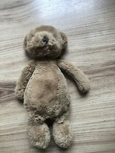 Jellycat Small Brown Puffles Bear Soft Brown Teddy Small Jellycat Small Puffles