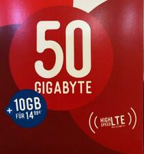 50GB Internet Flat für Deutschland / Germany 50GB Pay as Go Prepaid LTE Data Sim