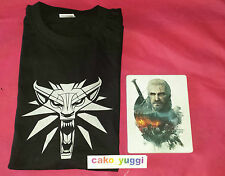 STEELBOOK THE WITCHER 3 G2 TRES BON ETAT+ T-SHIRT TAILLE L THE WITCHER 3