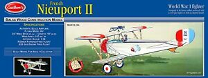 Guillows 203 Nieuport IIModel Kit Made in USA Free Shipping