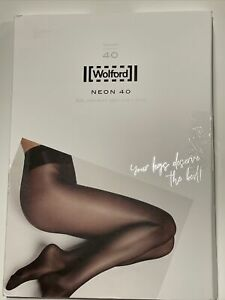 Wolford Neon 40 Tights 18391 Size XL Gobi 40 Denier