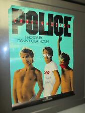 1986 Police Confidential Beech Tree Books Promo Poster Vg 15x20 Danny Quatrochi