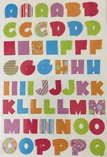 ALPHABET UPPER-CASE Sticker(107pc)Keepsake Essential •Letters•Poka-Dot•Labeling•