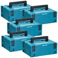 Makita 821550-0 MakPac Type 2 Connector Case 396mm x 296mm x 157mm Pack of 5