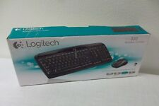 HP mk320 Wireless 2.4GHz Multimedia Keyboard + Mouse + Receiver 920-002836 NEW