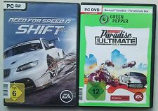 Burnout Paradise The Ultimate Box + NFS Need For Speed Shift Sammlung Rennspiele