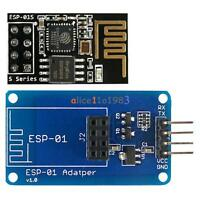 ESP-01S ESP8266 Serial Wi-Fi Wireless Module + ESP-01 Adapter for Arduino