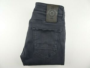 """POLICE 883 Mens Jeans Grey Stretch Denim Slim Fit SIZE W28 L32 Waist 28"""" Leg 32"""""""